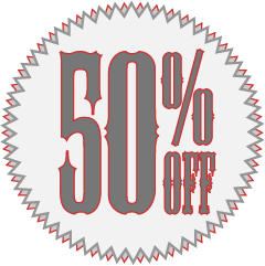 50% off everything at LauraChenault.com