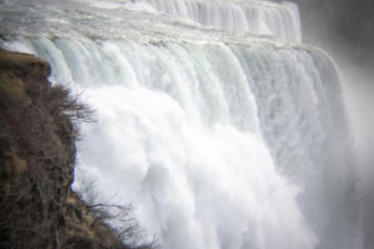 Photo by Laura Chenault – Exploring Prospect Point at Niagara Falls State Park