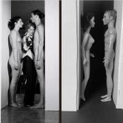 I'm following Tussen Kunst because I never thought I would see a recreation of Marina Abramovic's Imponderabilia - a performance where gallery goers had to walk very closely between a naked couple on the left. The recreation by Chris Steiner using Barbie dolls made me guffaw out loud.