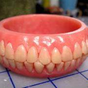 Denture Bracelet by Concave Oblivion