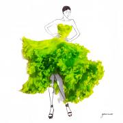 Lettuce Dress by Grace Ciao