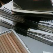Pages for New Sketchbooks by Laura Chenault