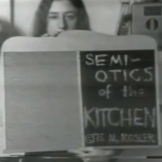 Semiotics of the Kitchen by Martha Rosler
