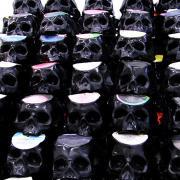 Record Skulls by Ted Reiderer