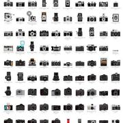A Visual Compendium of Cameras Poster by Pop Chart Lab