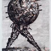 World Walking by William Kentridge